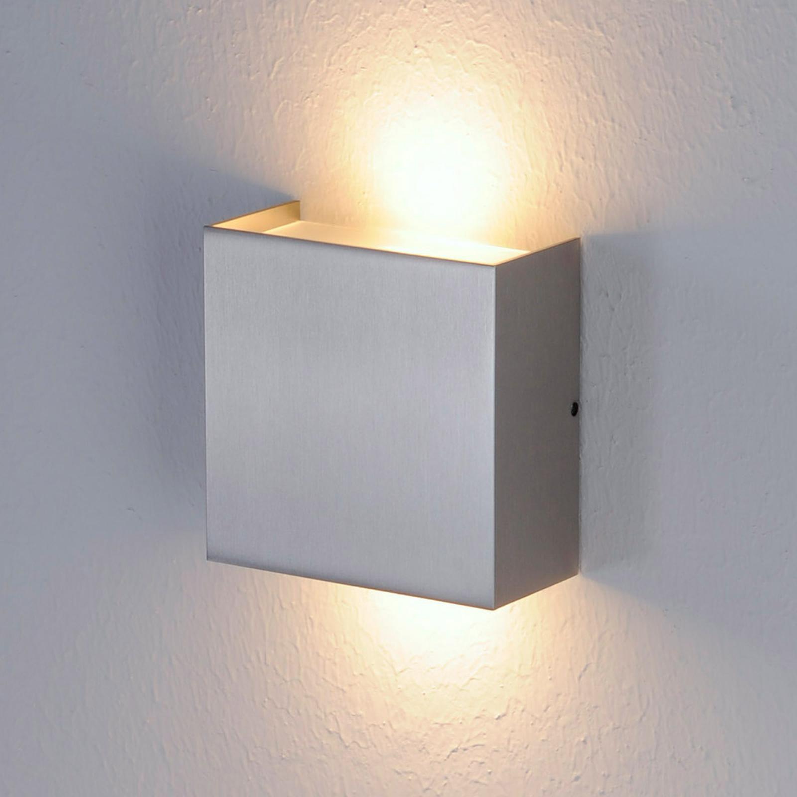 Päällys matta nikkeliä - LED-seinävalaisin Mira