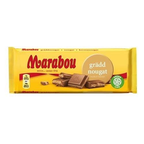 Marabou Gräddnougat - 100 g