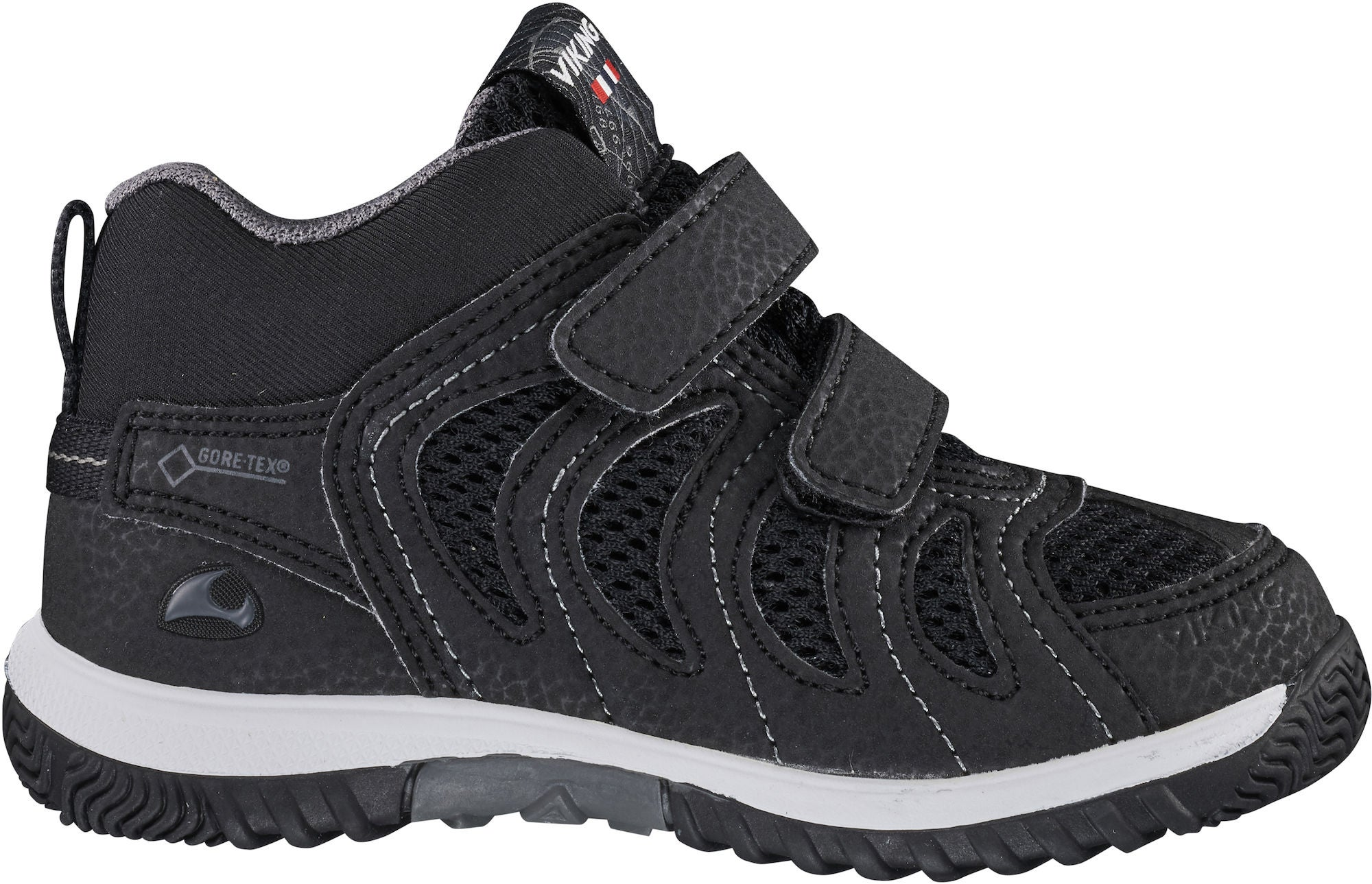 Viking Cascade Mid III GTX Sneaker, Black, 20