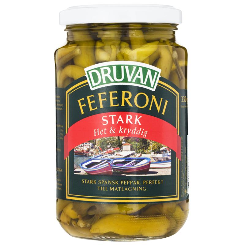 Feferoni Stark 340g - 25% rabatt