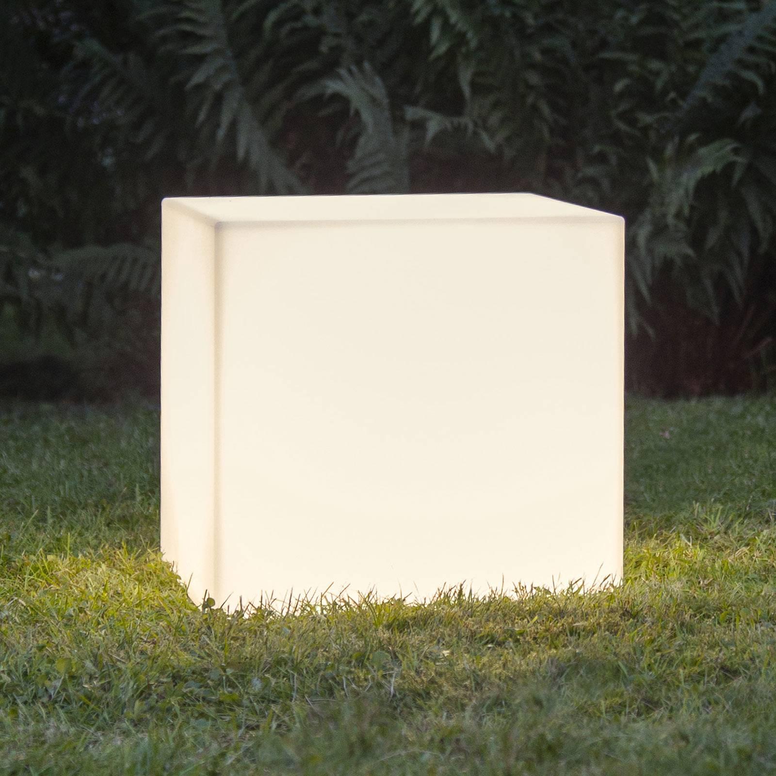 Terassivalaisin Gardenlight, kuutio, 38 cm