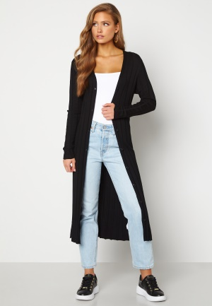 Happy Holly Anabelle long cardigan Black 32/34