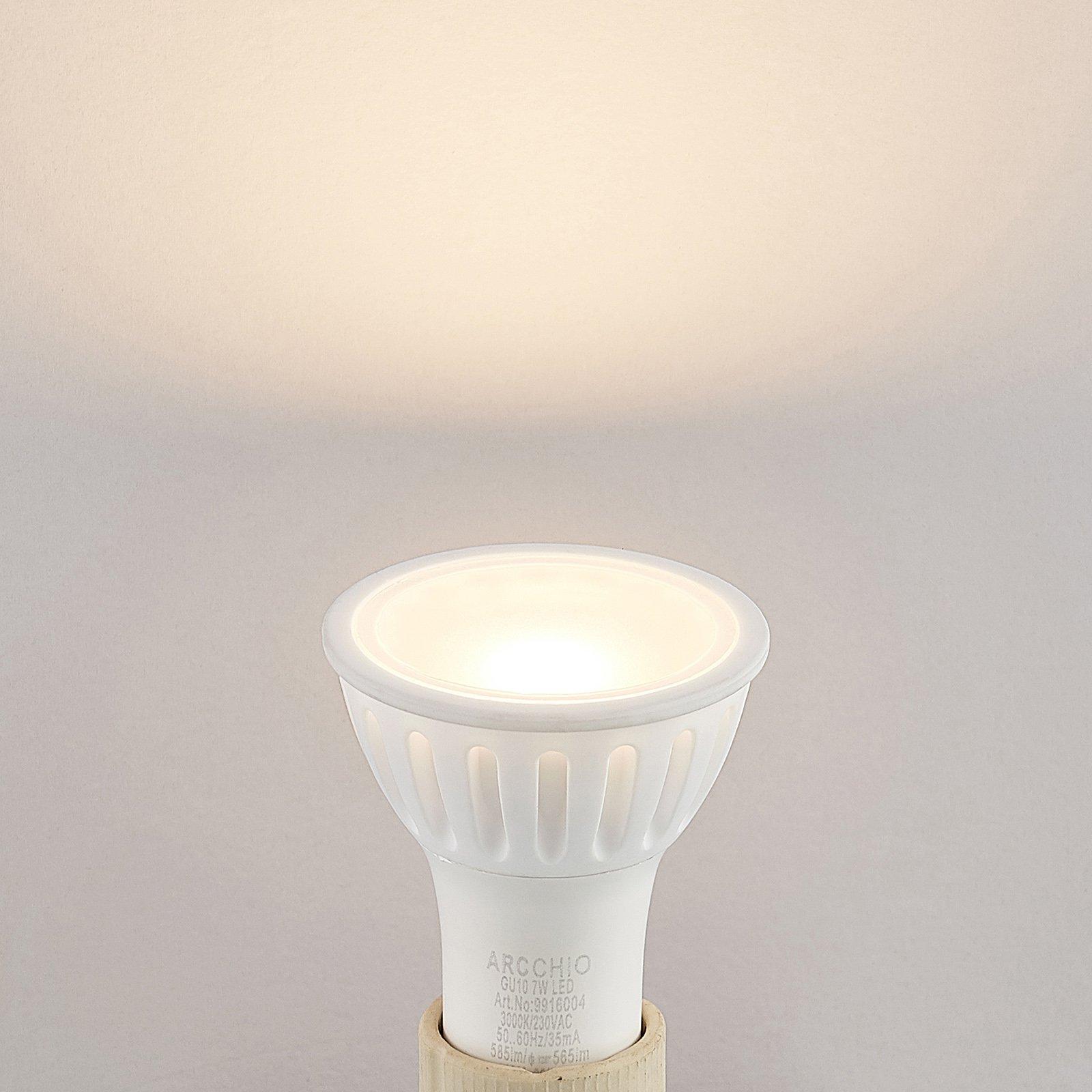 Arcchio LED-reflektor GU10 100° 7 W 3 000 K dimbar