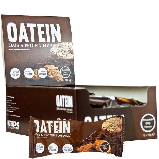 "Hel Låda Havre- & Proteinbars ""Chocolate Chip"" - 46% rabatt"