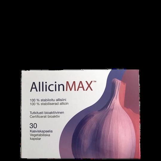 Allicinmax Powder 180 mg, 30 kapslar