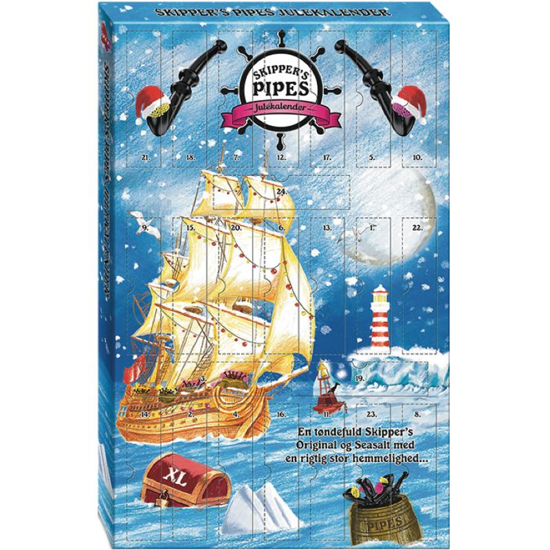 """Julkalender """"Skippers"""" 436g - 89% rabatt"""