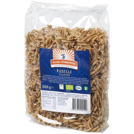 Eko Pasta Fusilli Fullkorn 500g - 15% rabatt