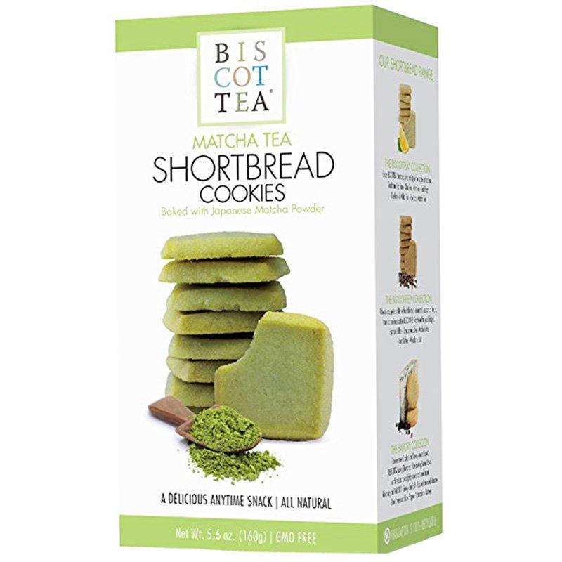 """Brödkakor """"Shortbread Matcha Tea"""" 160g - 45% rabatt"""
