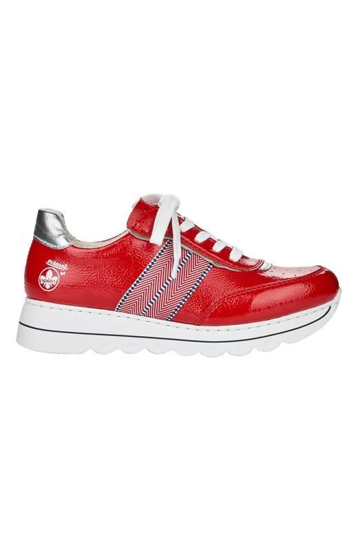 Rieker Sneakers Röd