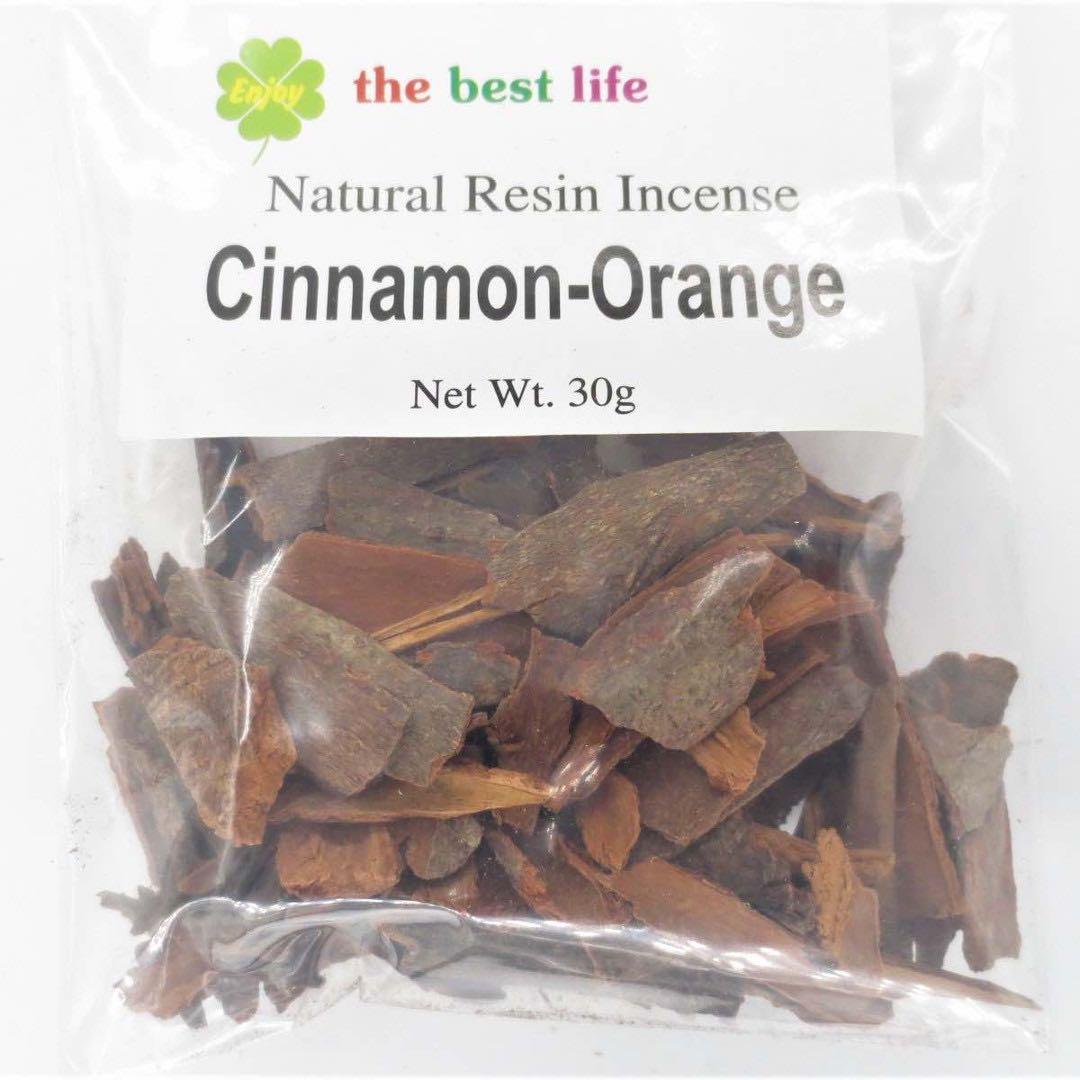 Kanel och Apelsin 30 gram - Rökelse i lösvikt
