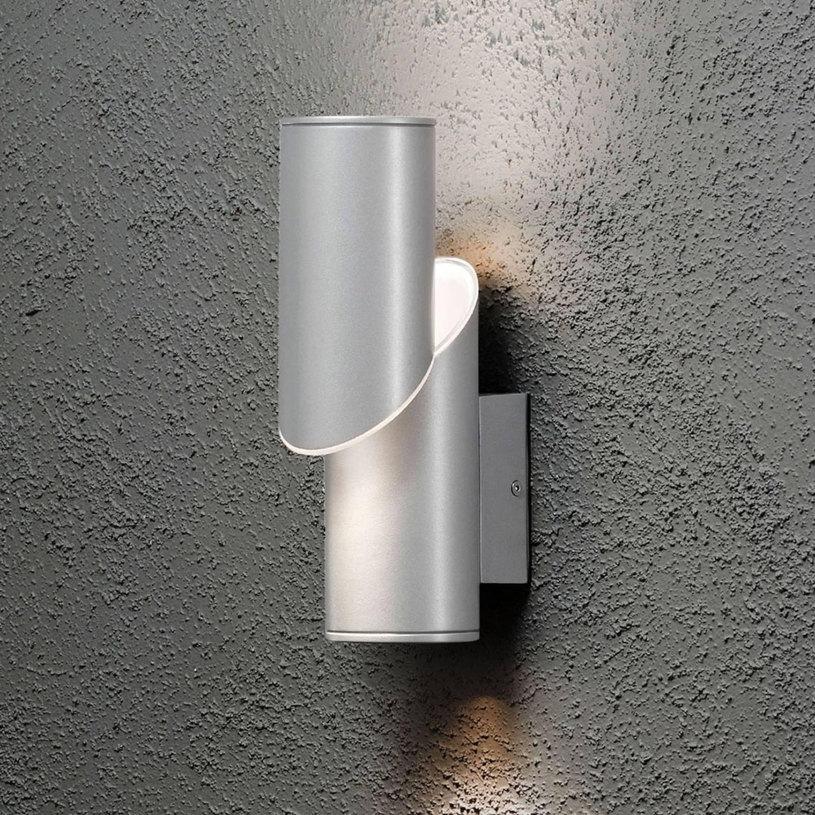 Up-down - vegghengt utelampe Imola med LED-lys