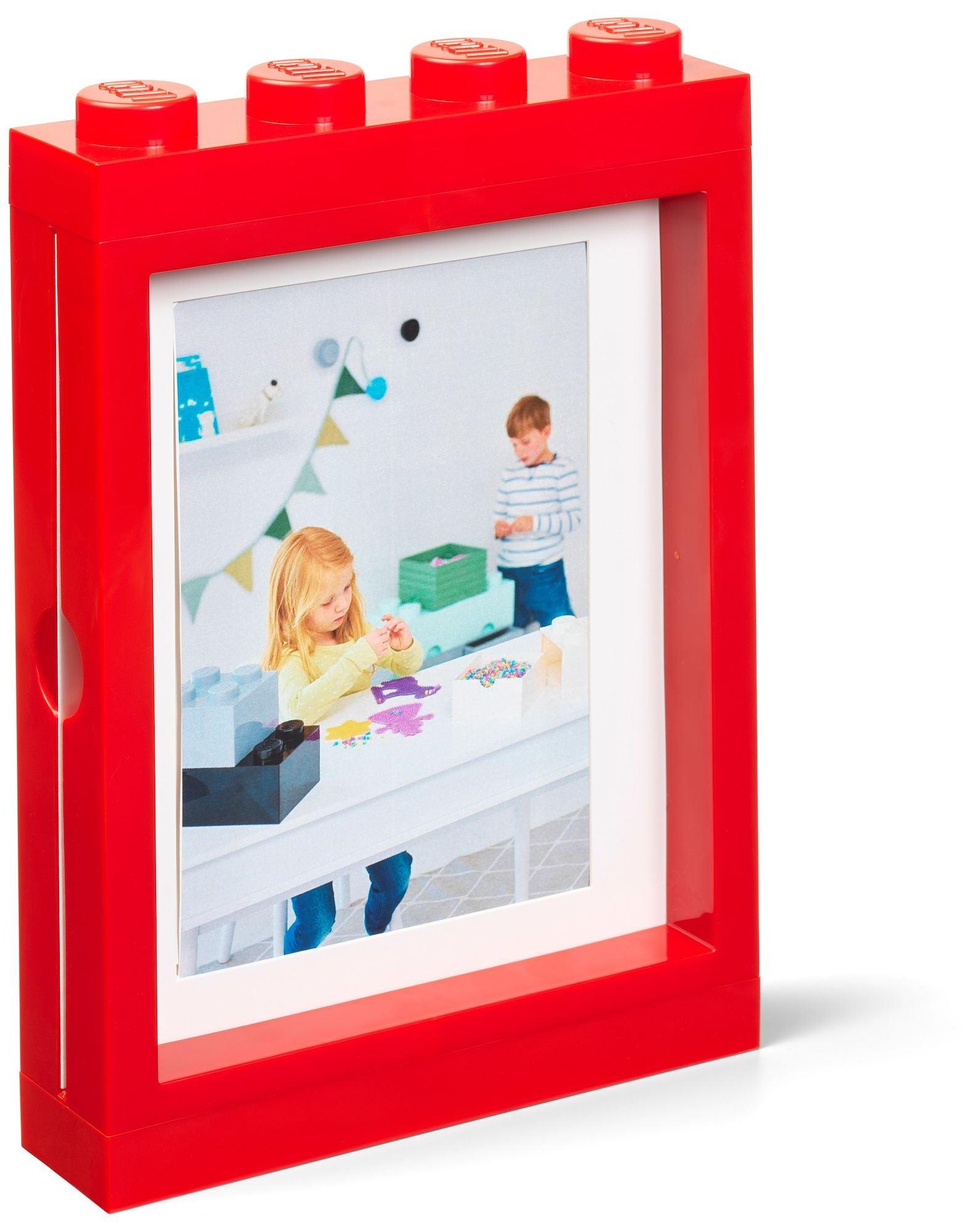 LEGO valokuvakehys, Punainen