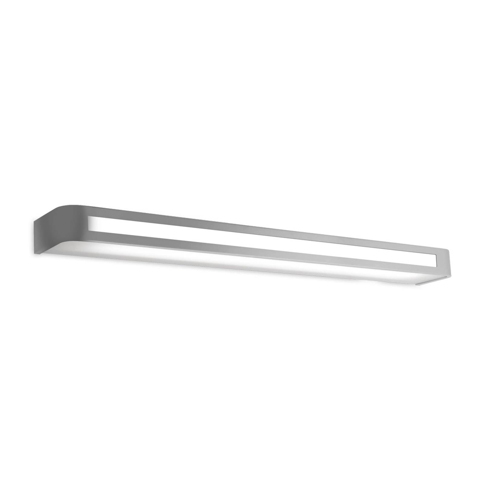 Tidløs LED-vegglampe Arcos, IP20 90 cm, krom