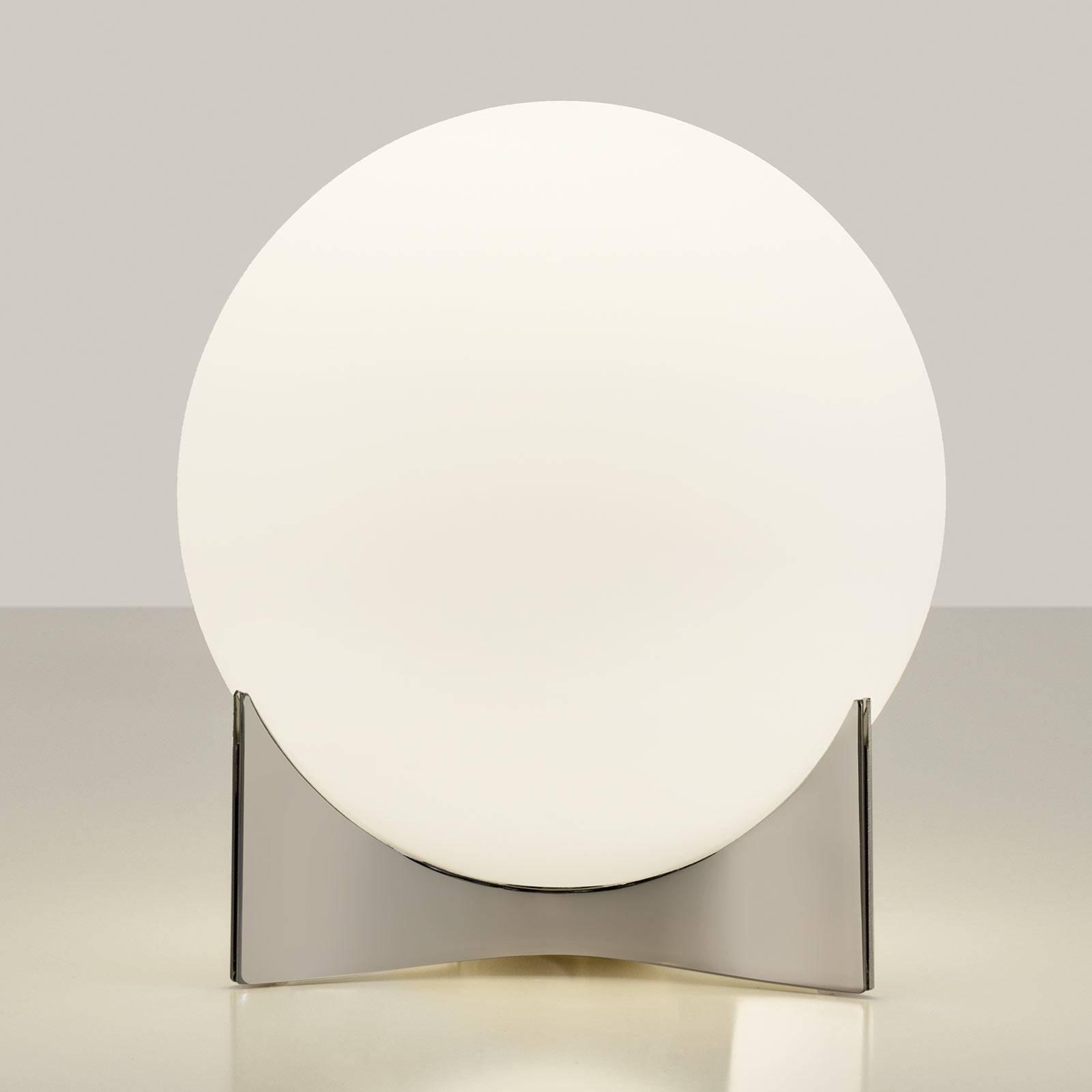 Terzani Oscar bordlampe av glass, nikkel