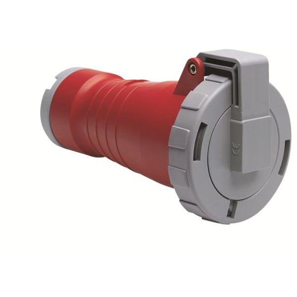 ABB 2CMA166598R1000 Jatkopistorasia suora, IP67 Punainen, 32 A