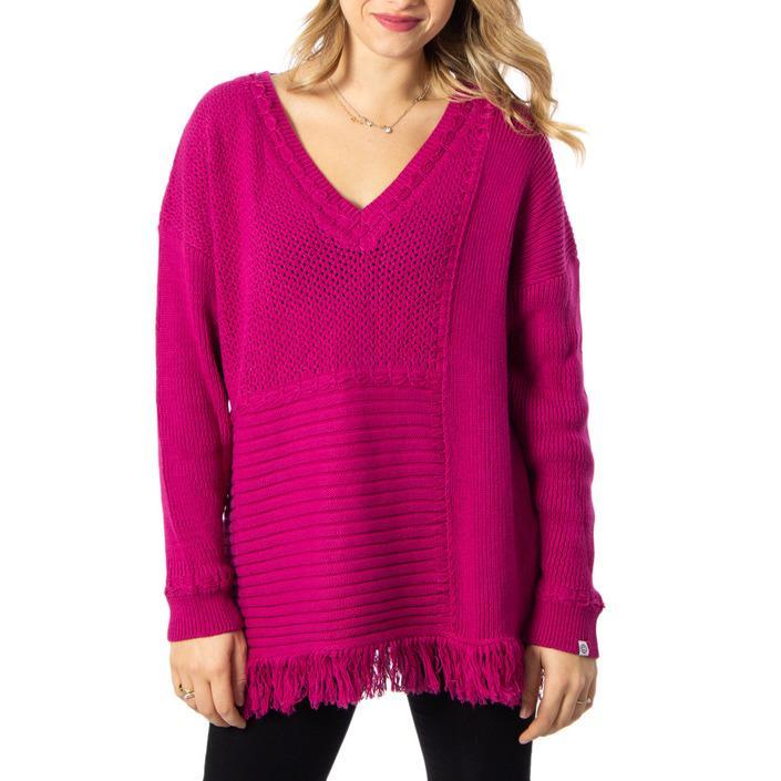 Desigual Women's Sweater Fuchsia 170176 - fuchsia M