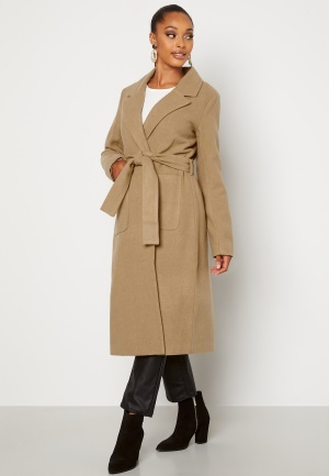 Happy Holly Claire Coat Beige 48