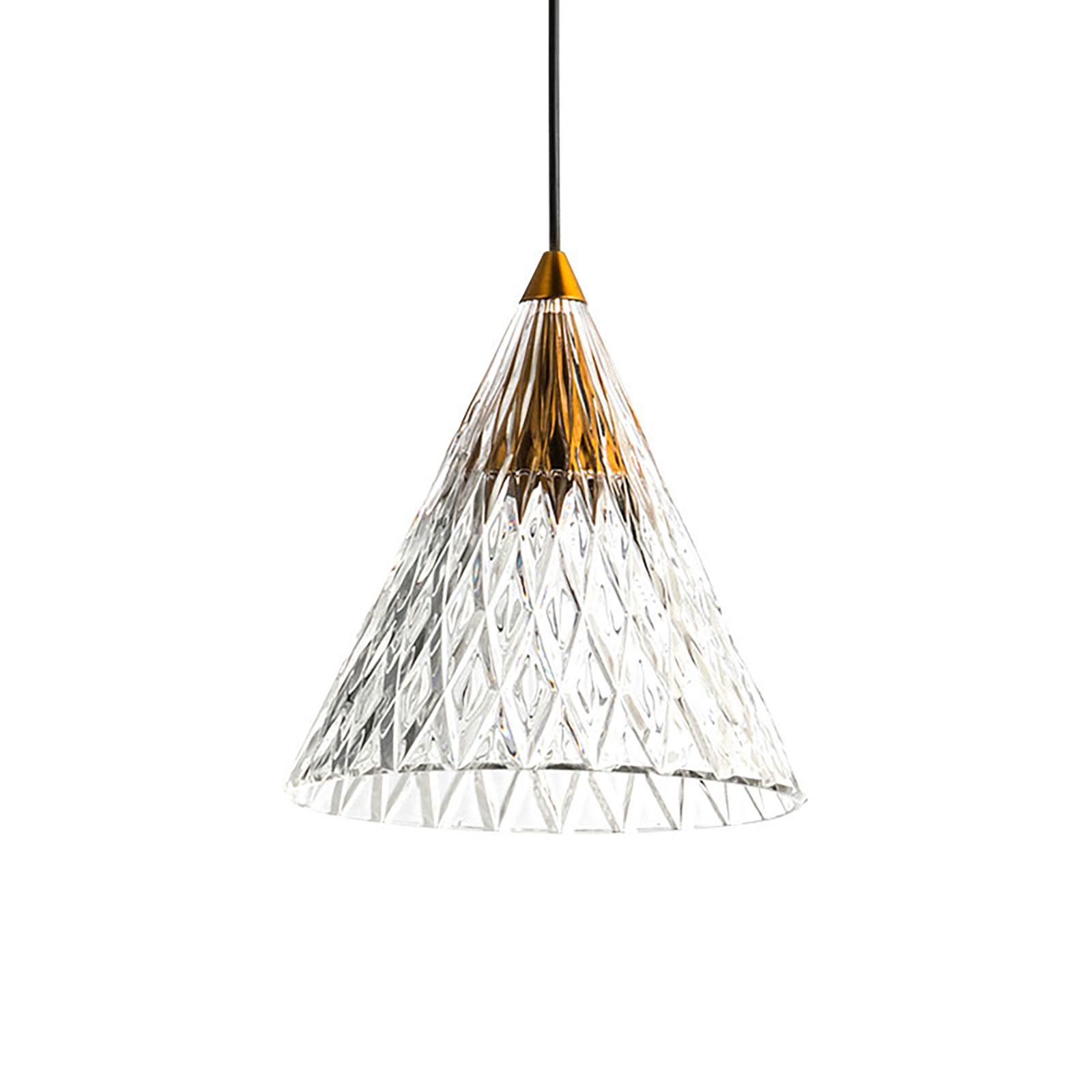 LEDS-C4 Veneto -LED-riippuvalo, kulta/kulta