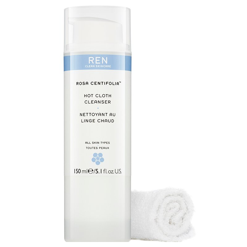 REN - Rosa Centifolia Hot Cloth Cleanser 100 ml