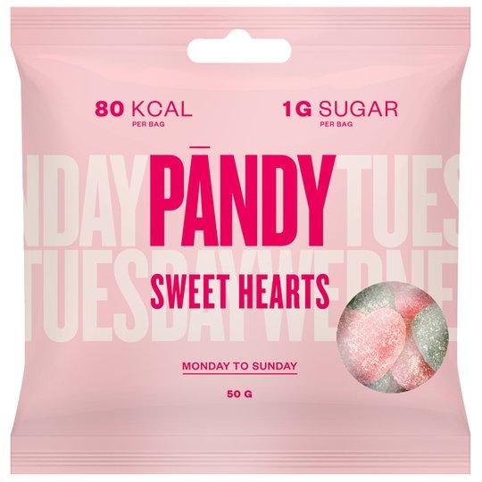 Sockerfritt godis Sweet Hearts - 25% rabatt