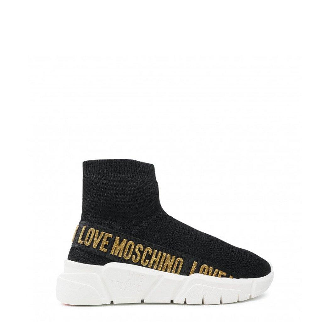 Love Moschino Women's Trainer Black JA15633G1DIZ3 - black EU 35