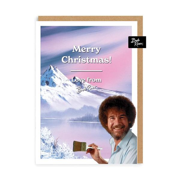 Winter Lake Merry Christmas Card