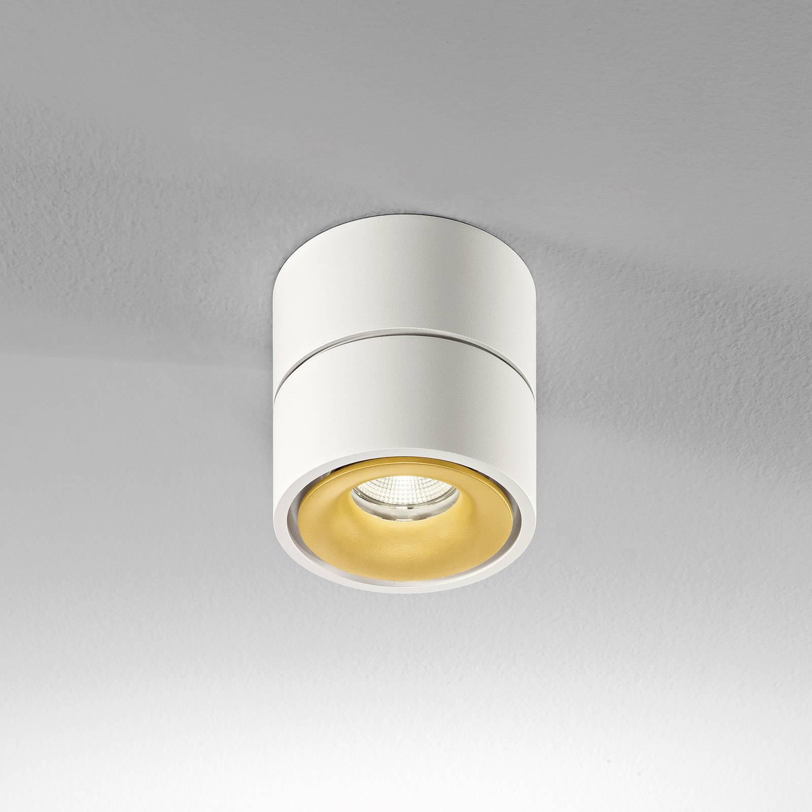 Egger Clippo -LED-kattospotti dim-to-warm kulta