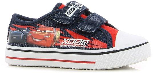 Disney Cars Sneaker, Navy/Red 30
