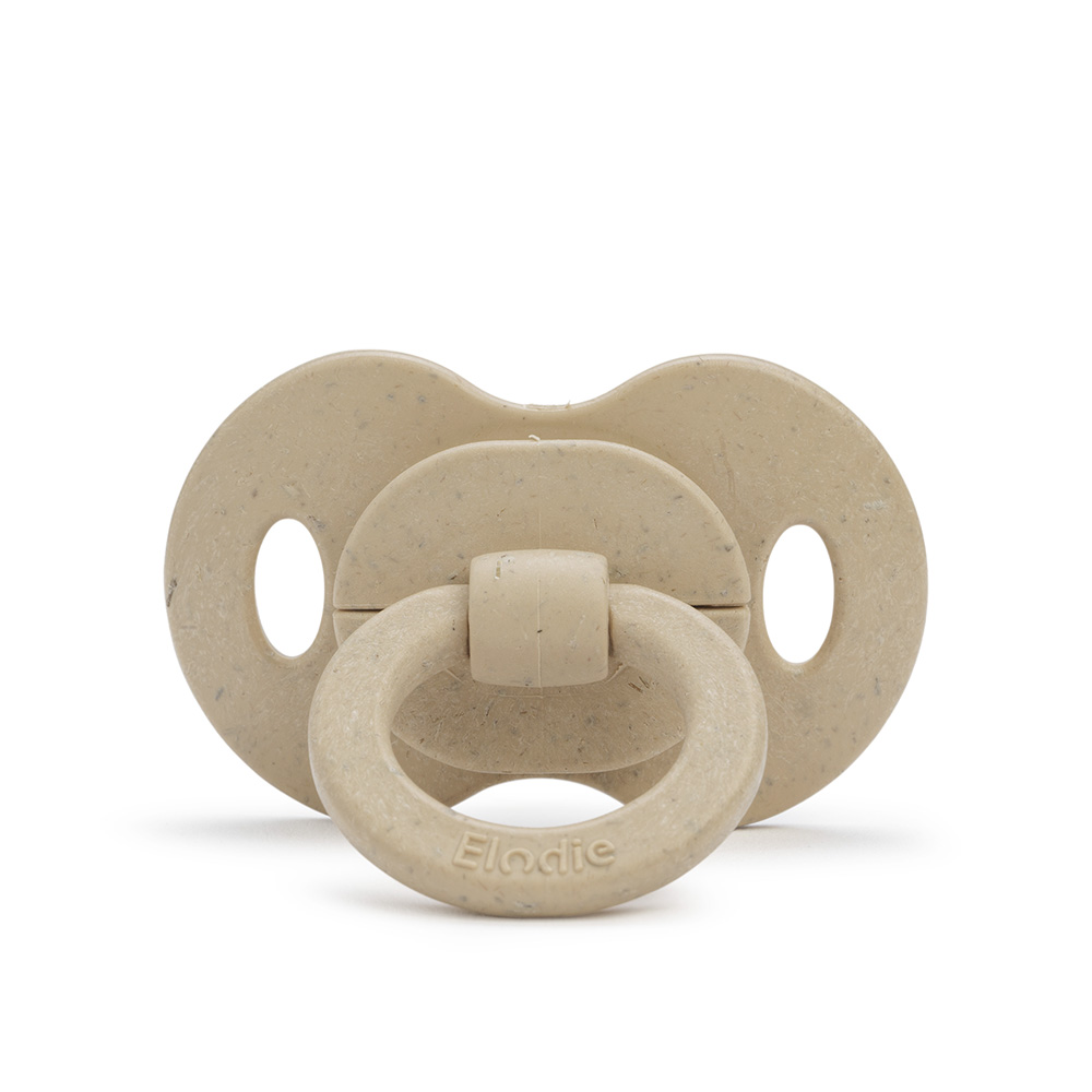 Bamboo Soother Orthodontic 3+ months - Pure Khaki