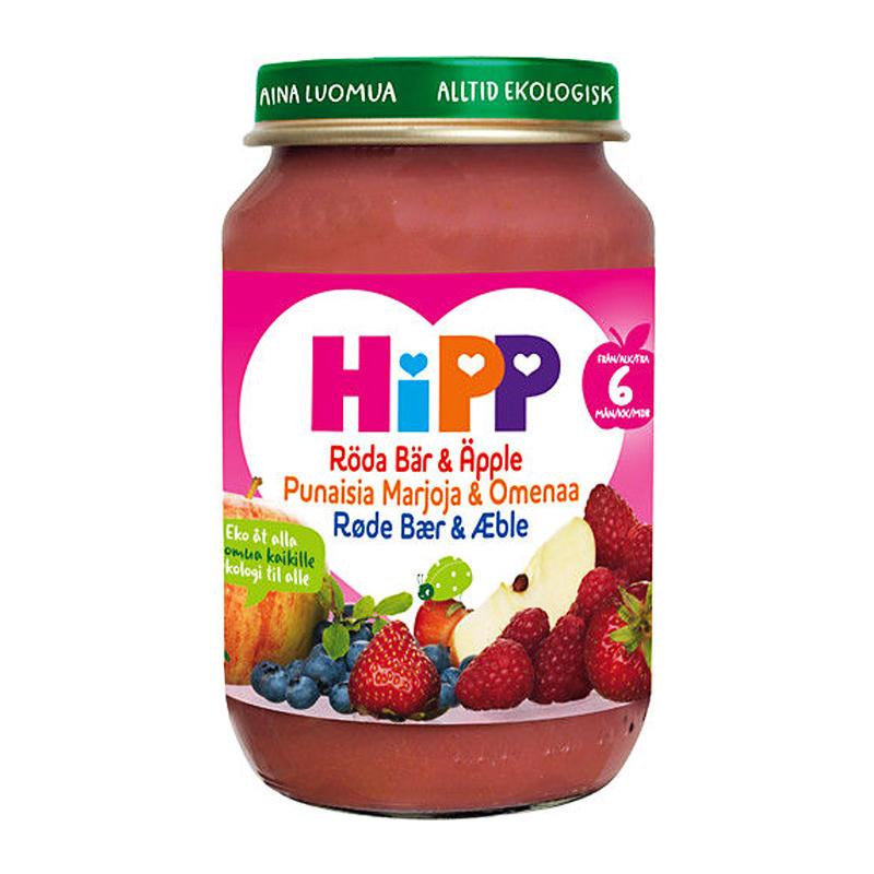 Barnmat Röda Bär & Äpple 190g - 28% rabatt
