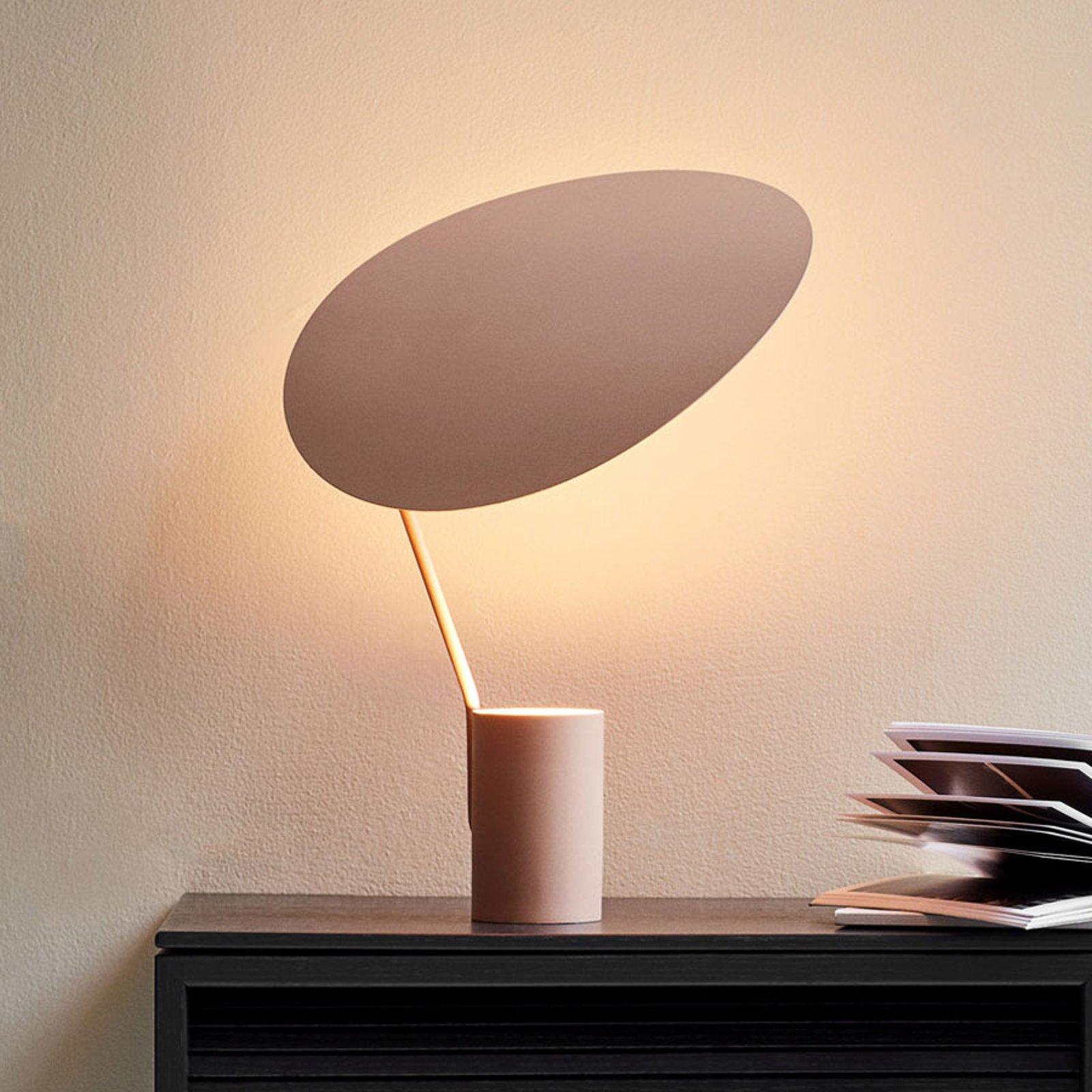 Northern Ombre bordlampe, beige