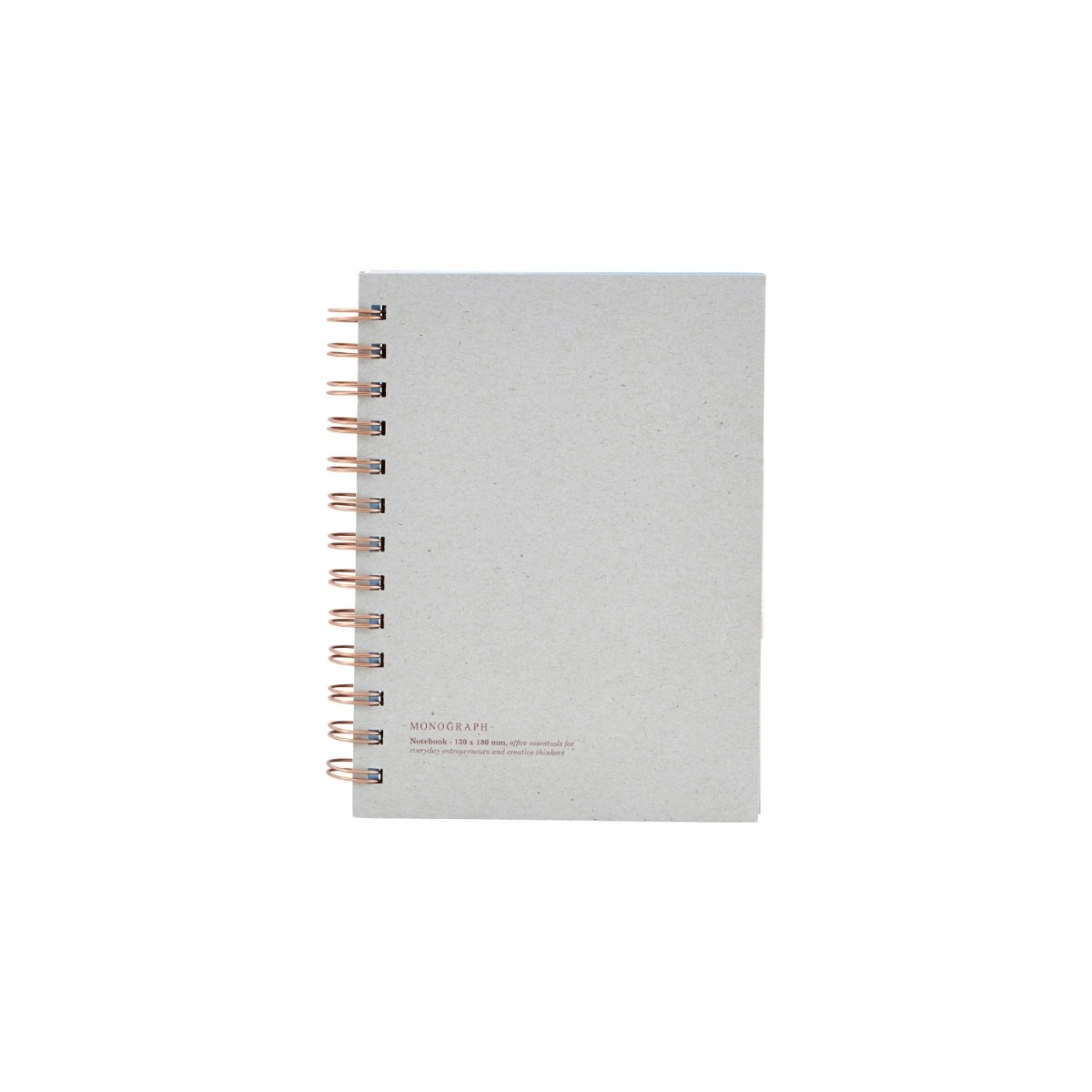 Monograph Anteckningsbok Tome 18x13,5 cm Grå