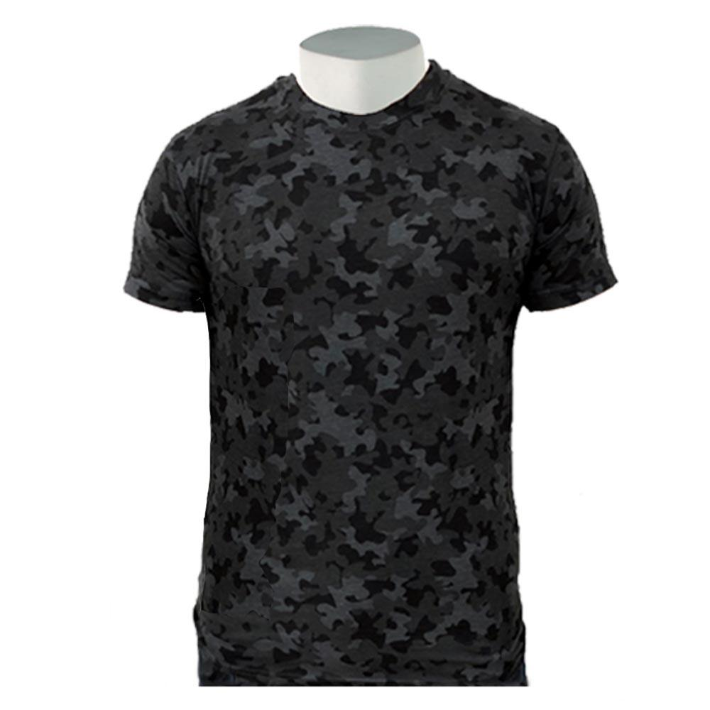 Game Camouflage T-Shirt - Night Camo S