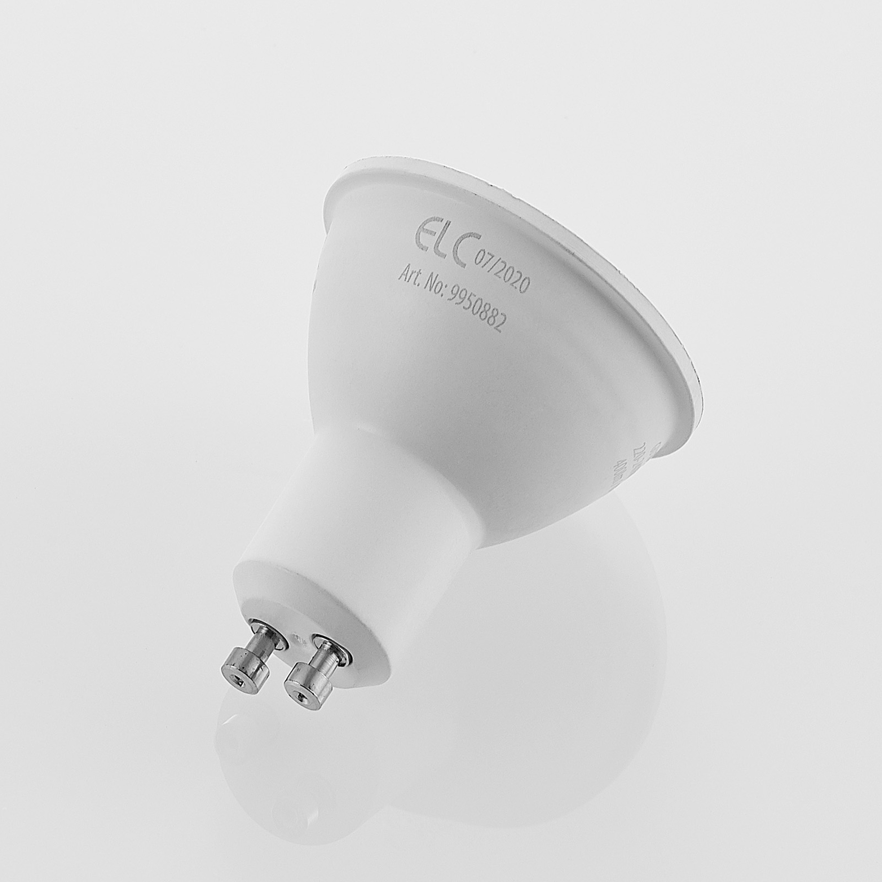 ELC-LED-lamppu GU10 5W 10 kpl 2700K 120° 3Step-dim