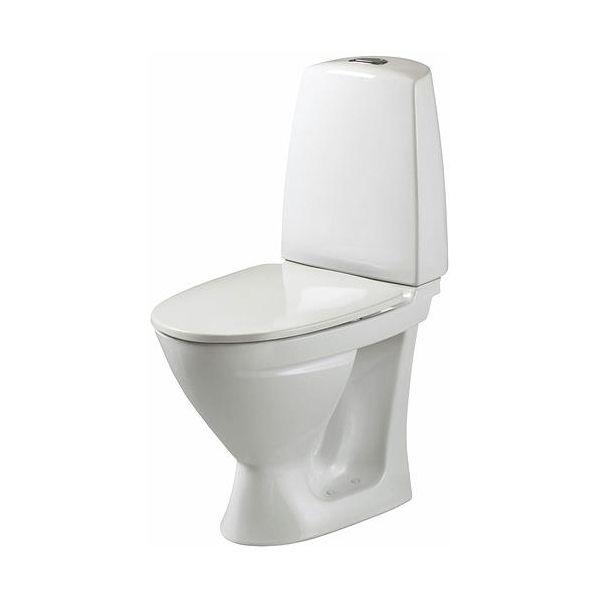 Ifö Sign 686206517 Toalettstol med mykt sete, enkeltspyling