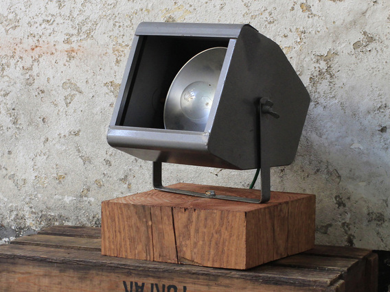 Upcycled Vintage Theatre Lamp By Strand Electric Medium