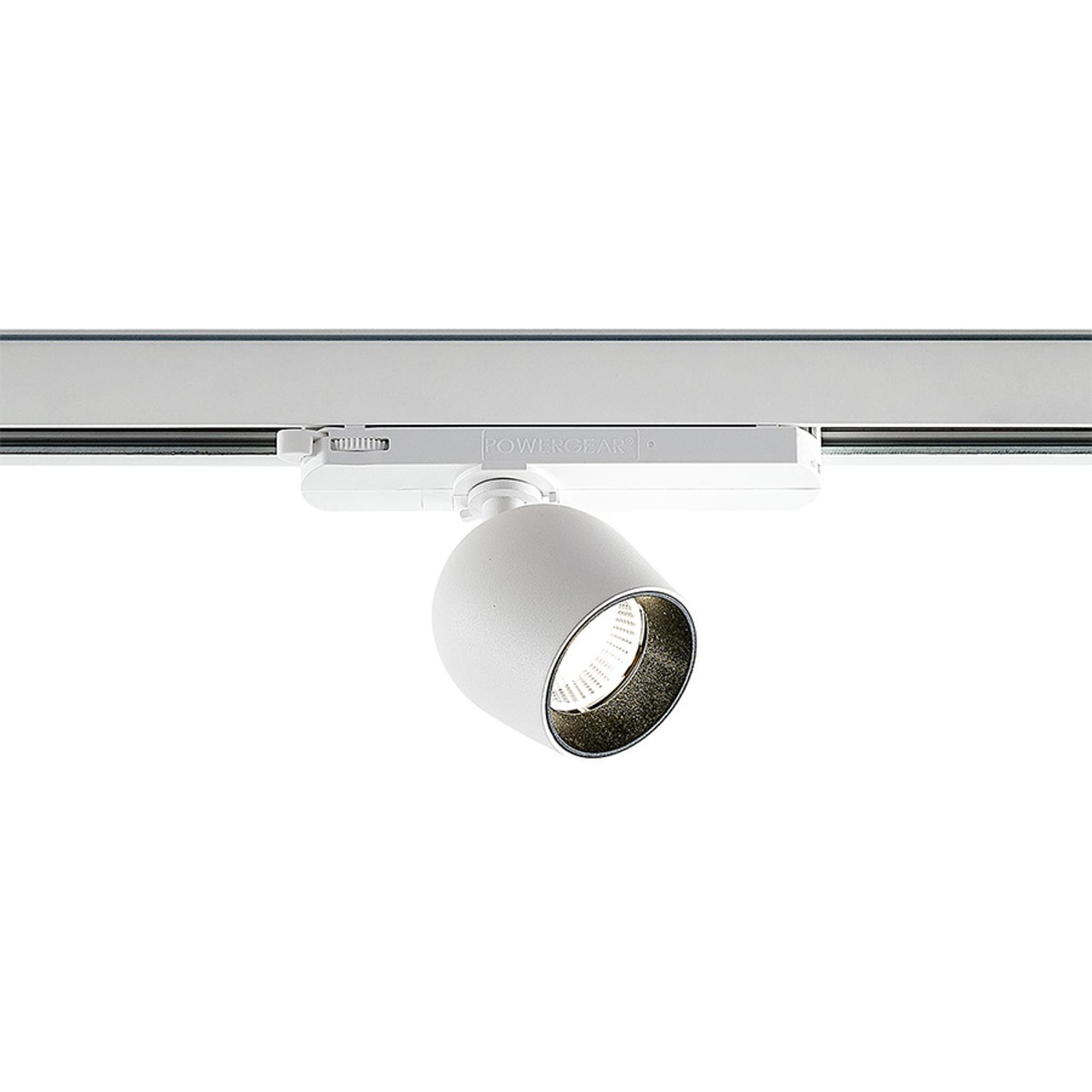 Arcchio Bartu -LED-kiskovalo, valkoinen 4 000 K