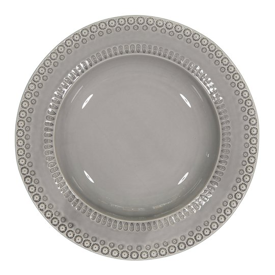 PotteryJo - Daisy Serveringsskål 35 cm Soft Grey