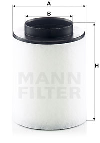 Ilmansuodatin MANN-FILTER C 17 023