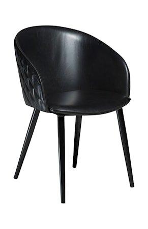 Stol Dual Kunstlær - Vintage Svart