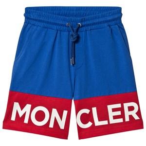 Moncler Logo Shorts Blå 8 years