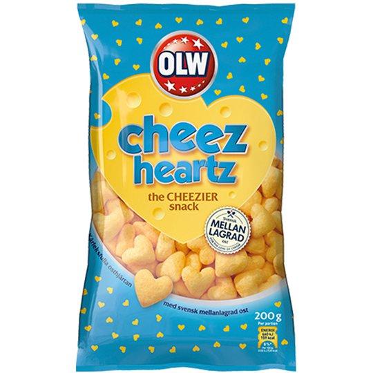 Chips Cheez Heartz - 32% rabatt
