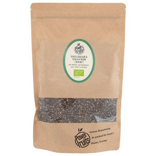 Powerfruits Ekologiska Chiafrön RAW, 500 g