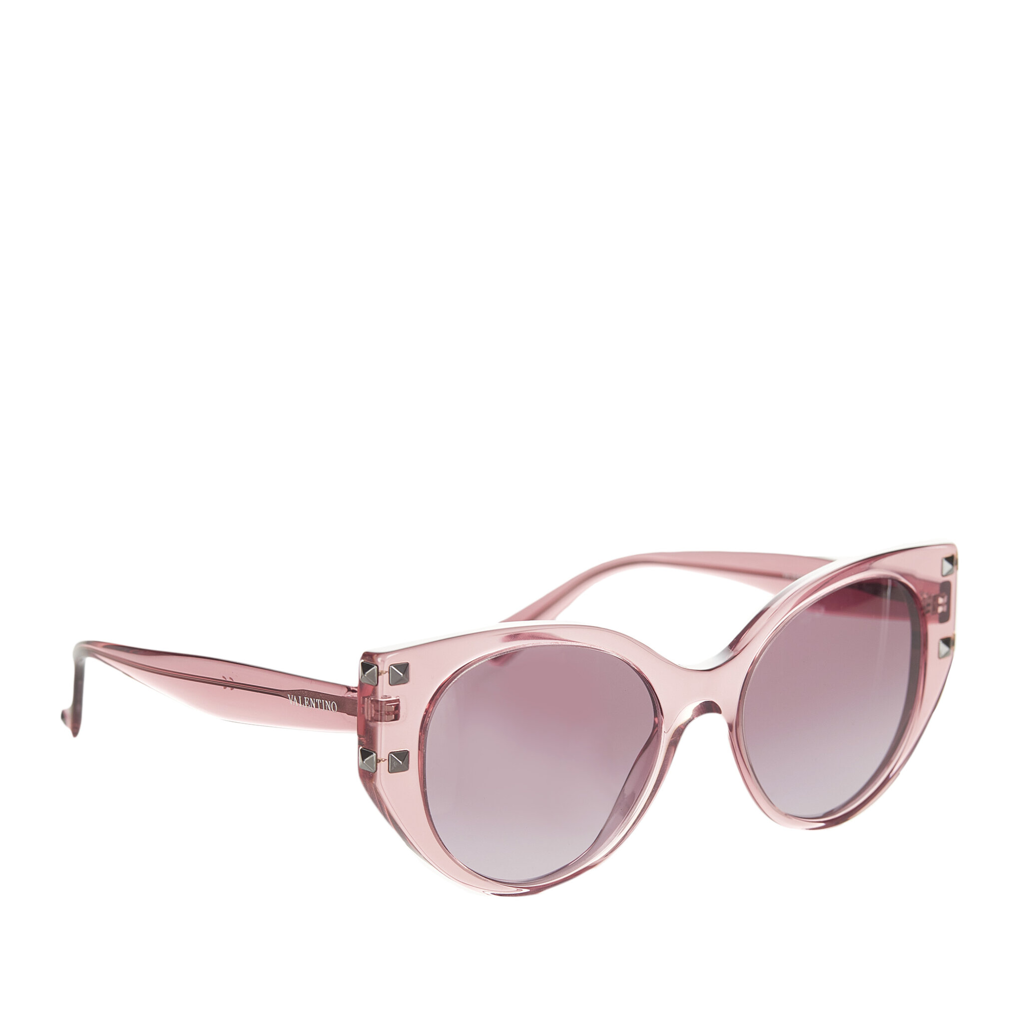 Valentino Rockstud Cat Eye Tinted Sunglasses, ONESIZE