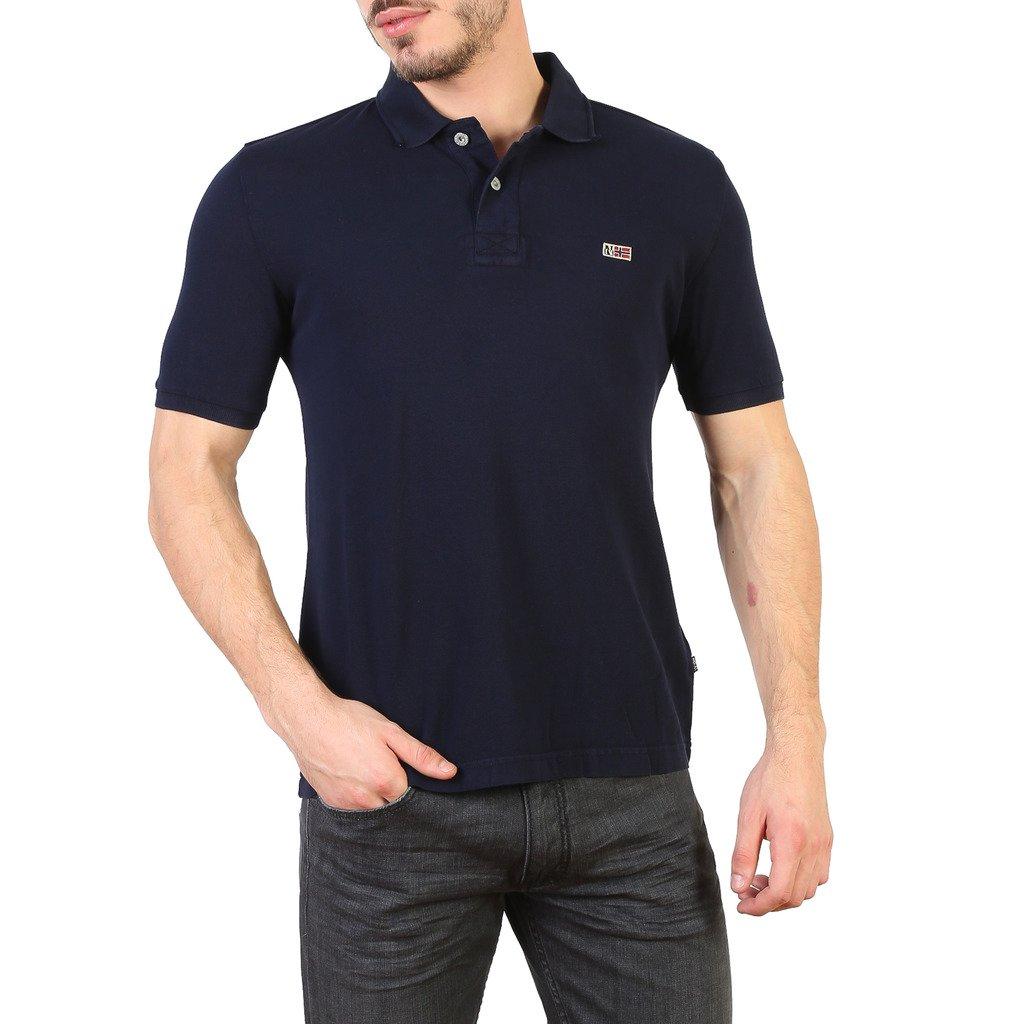 Napapijri Men's Polo Shirt Various Colours N0YHDX - blue S