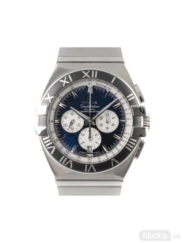 Begagnad Omega Constellation Double-Eagle Co-Axial Chronograph 378.1201, 1519.51.00