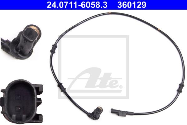 ABS-anturi ATE 24.0711-6058.3