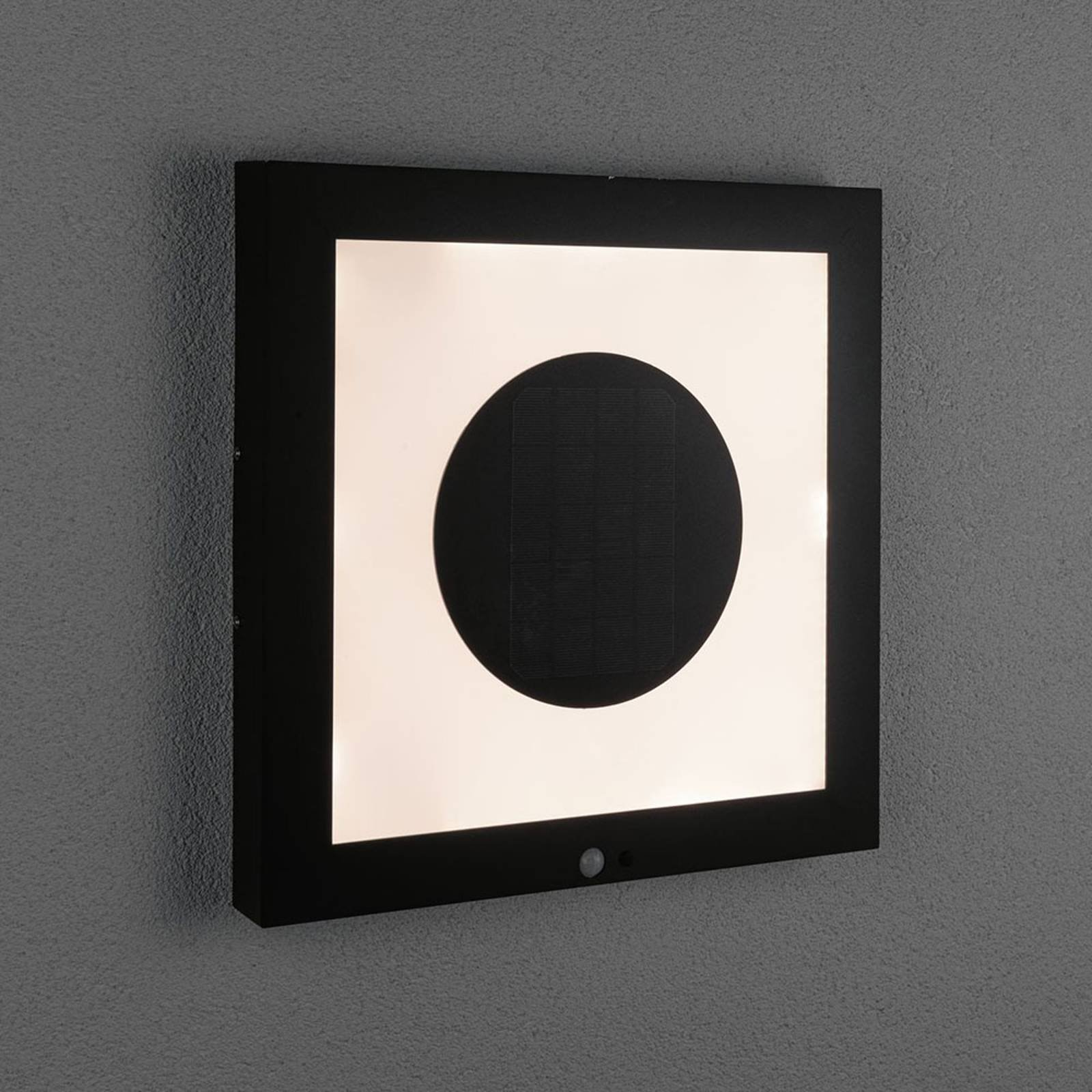 Paulmann LED-solcellepanel Taija sensor 40 x 40 cm