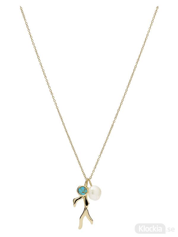 FOSSIL Halsband Fashion – Guld JF03736710 - Damsmycke