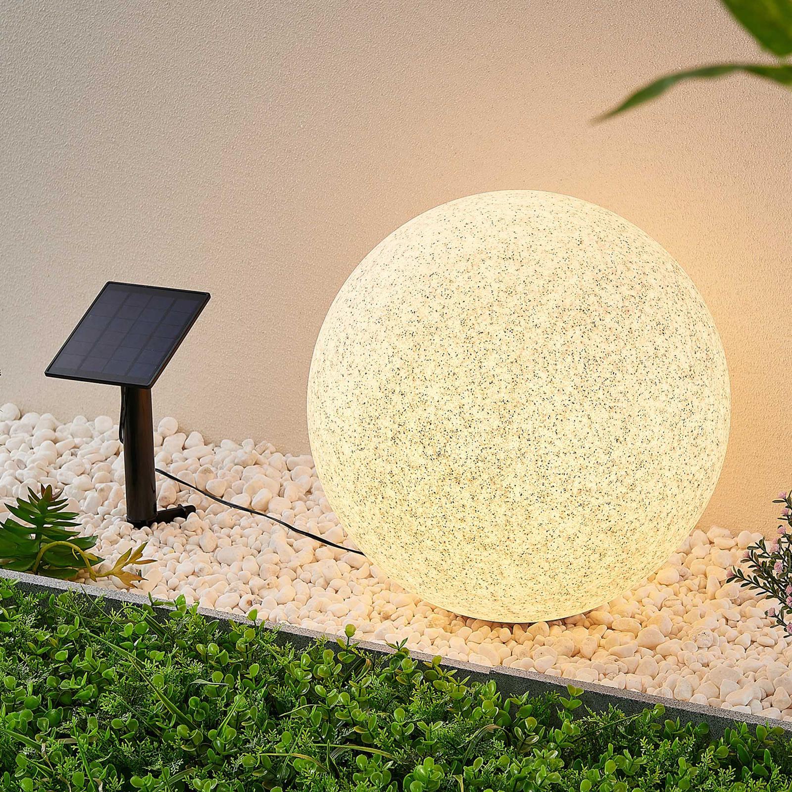 Lindby Hamela -LED-aurinkokoristevalo, RGB, 40 cm
